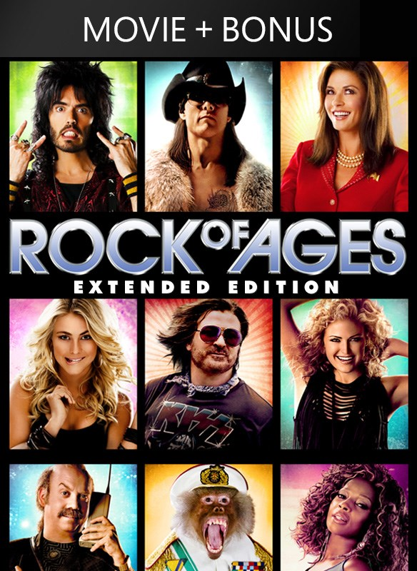 Rock of Ages Extended Edition (Plus Bonus Features)