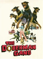Amazon. Com: the doberman gang 11 x 17 movie poster style a.