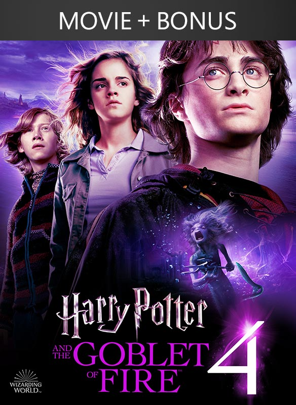 Harry Potter and the Goblet of Fire (plus Bonus Features!)