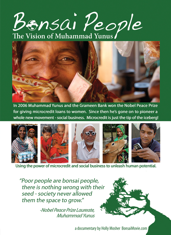 Bonsai People: The Vision of Muhammad Yunus