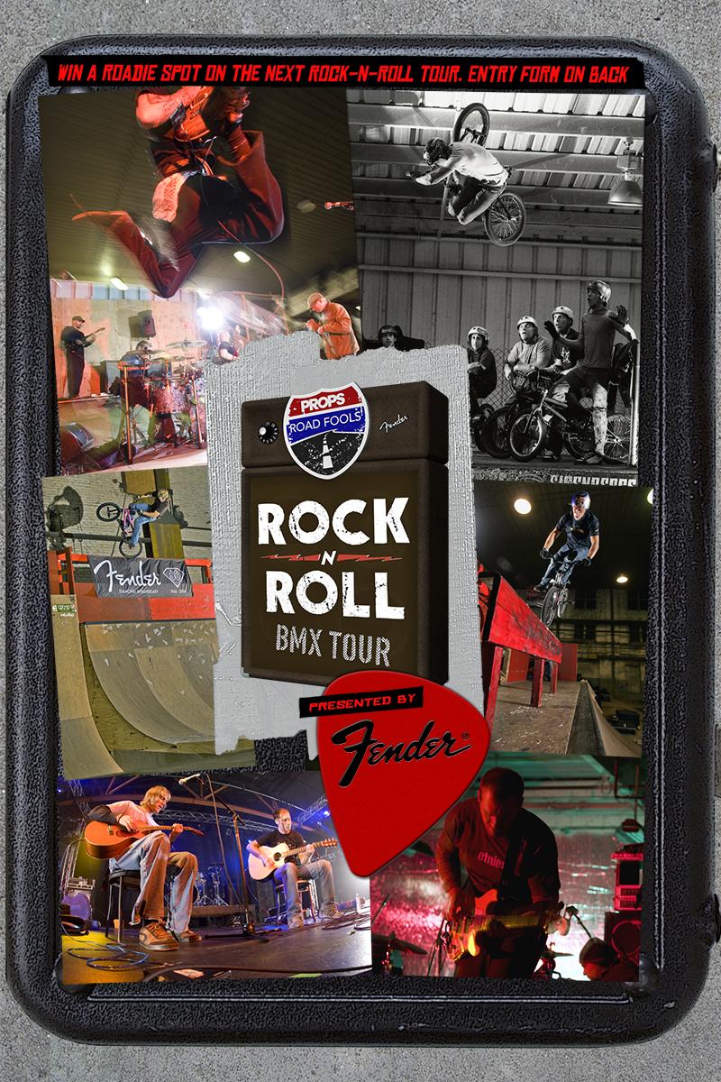 Props BMX: Road Fools Rock-n-Roll Tour 1