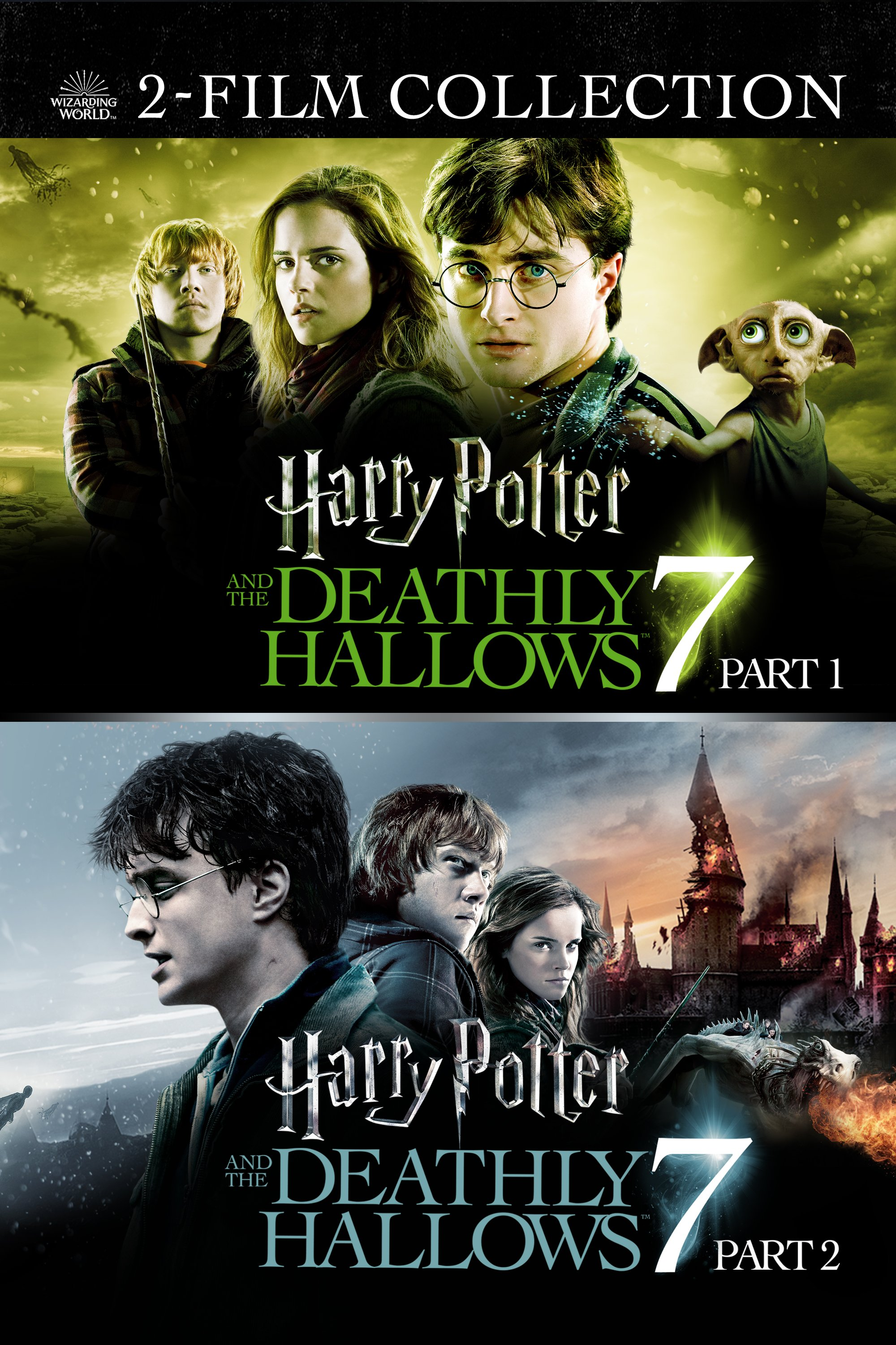 Harry Potter and the Deathly Hallows: Part 1 and 2