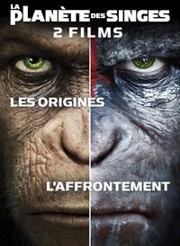 La Planète des singes: Les Origines + La Planète des Singes: L'Affrontement