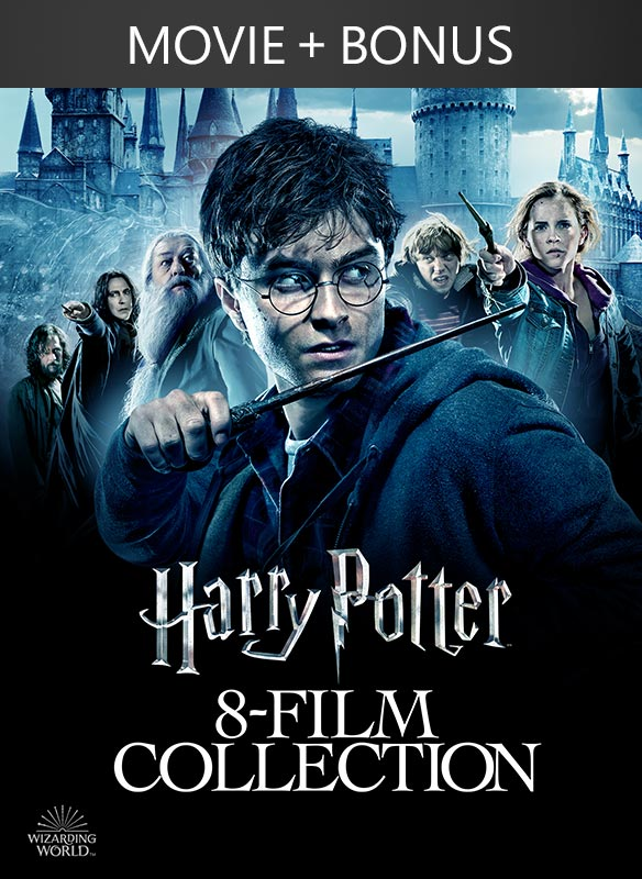 Harry Potter: The Complete 8 Film + Bonus Collection