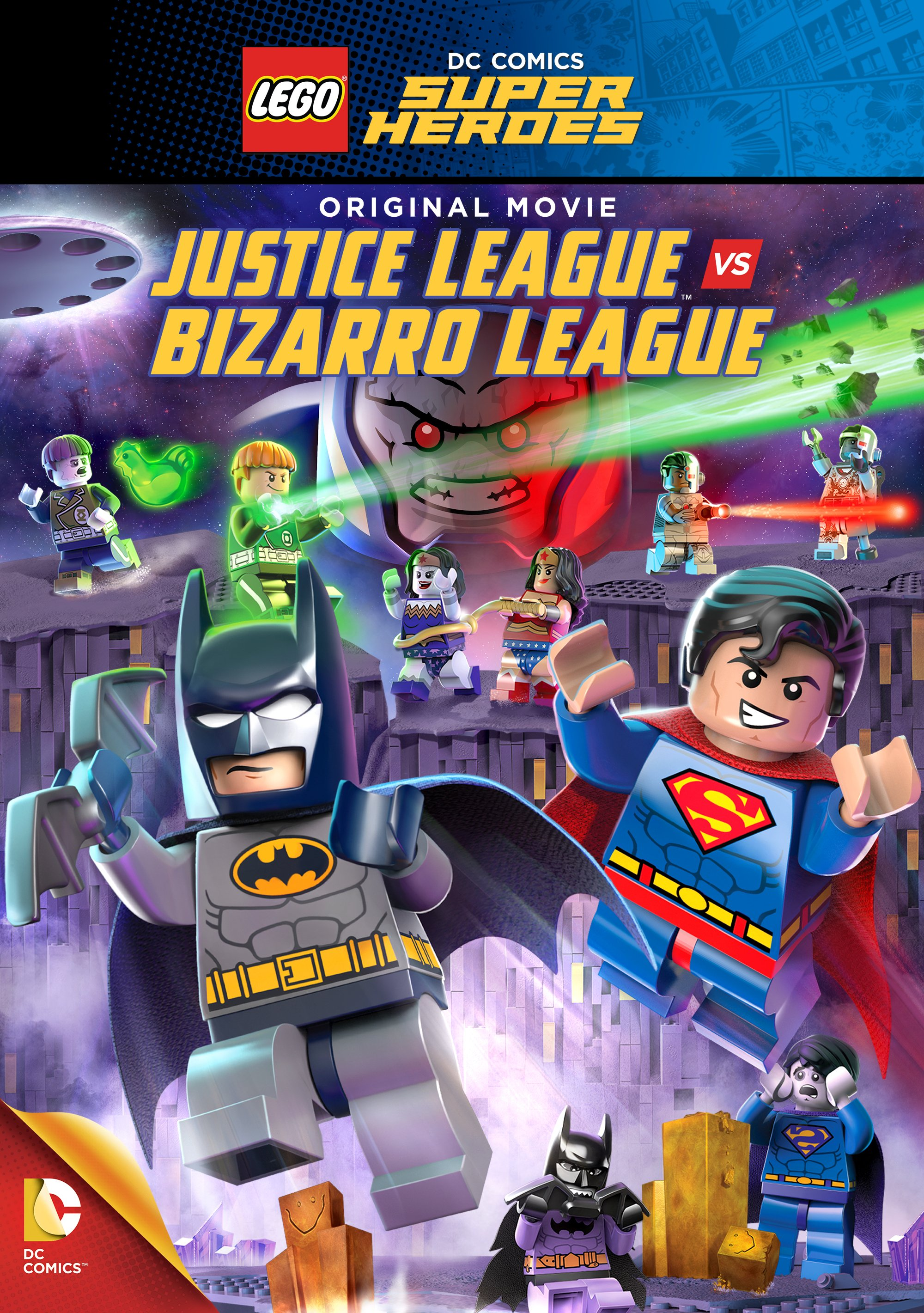 LEGO: Justice League vs Bizarro League
