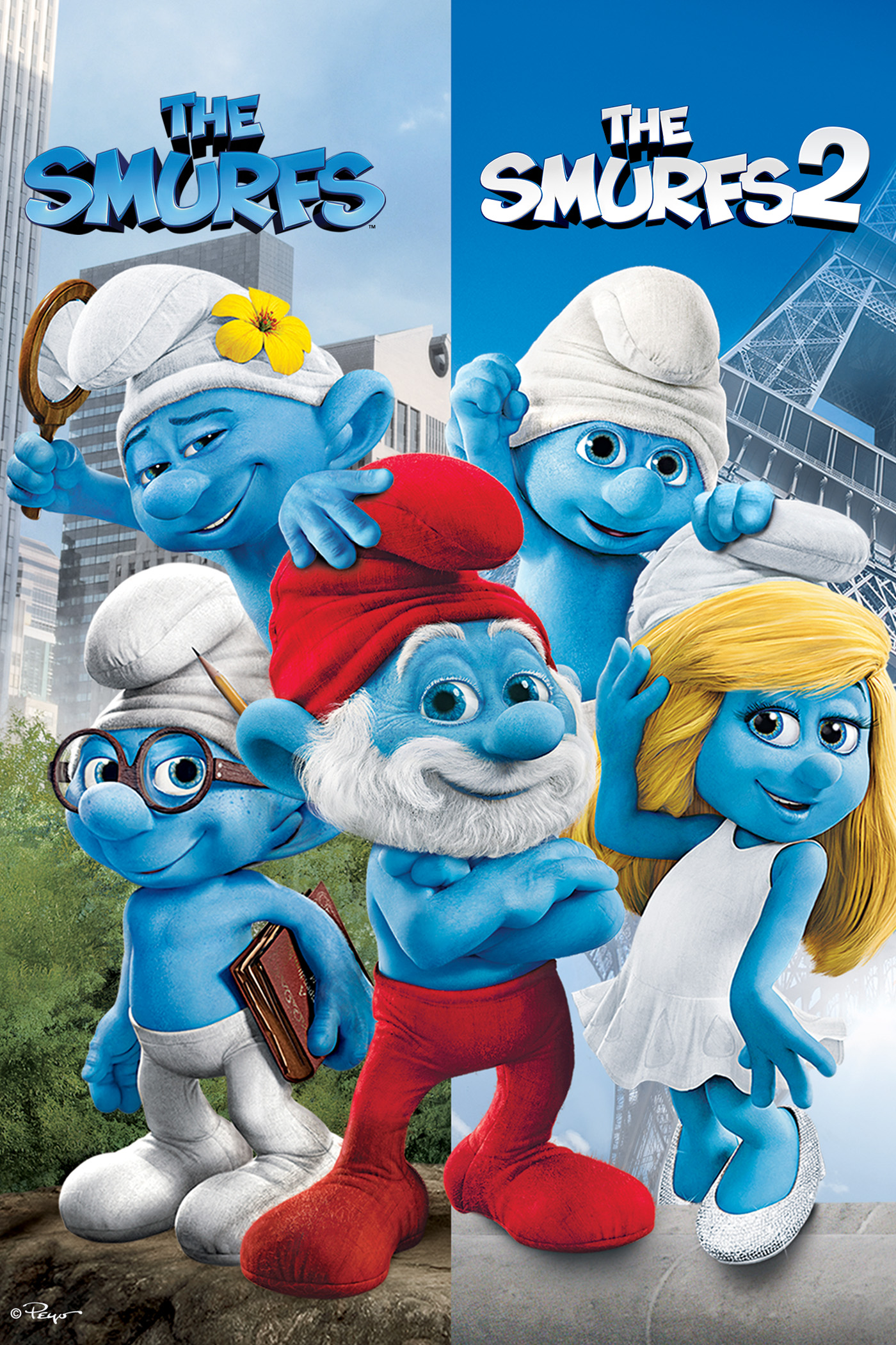 The Smurfs 1 & 2 Bundle