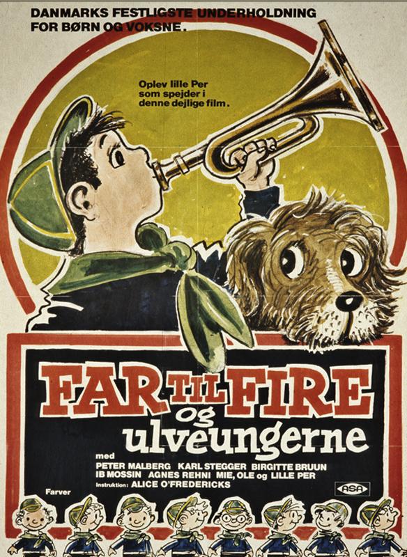 Far Til Fire og ulveungerne