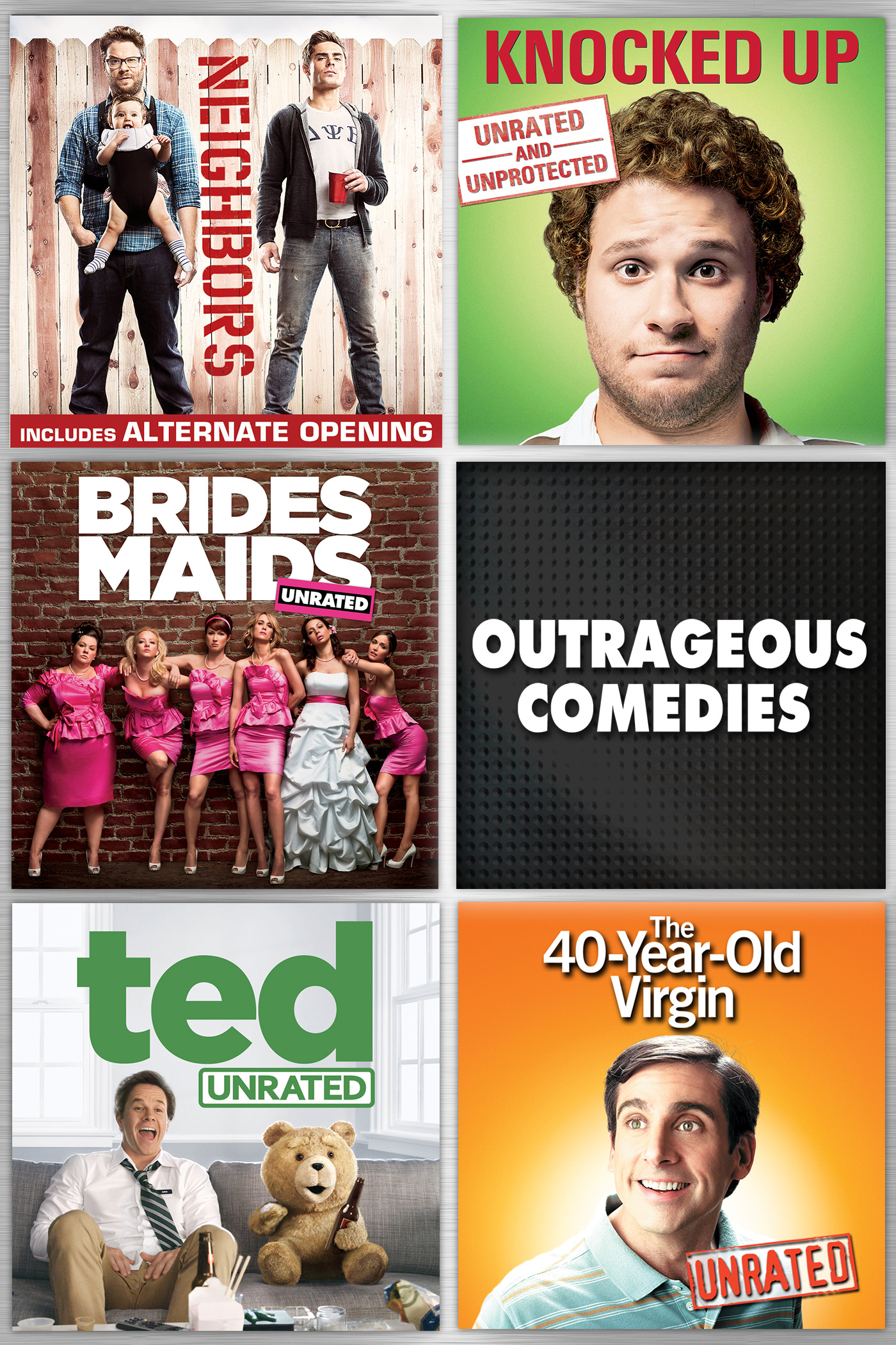 Outrageous Comedies 5-Pack