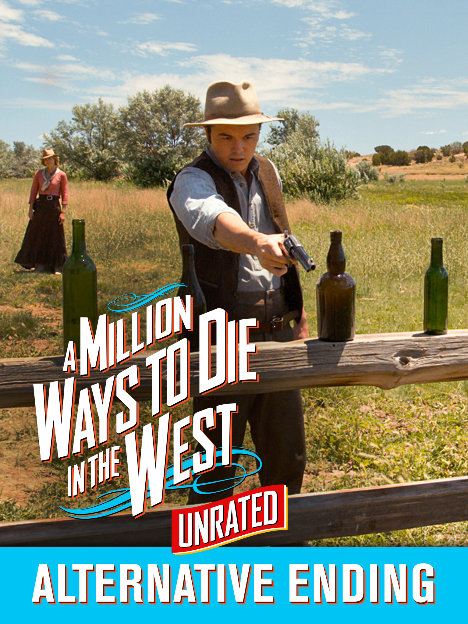 A Million Ways To Die In The West (Unrated) (+ Bonus)