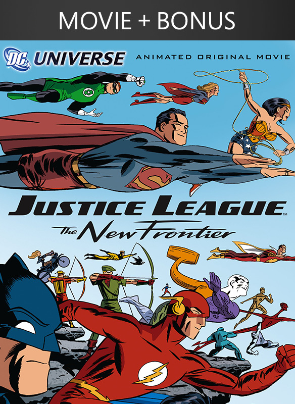 Justice League: The New Frontier + Bonus