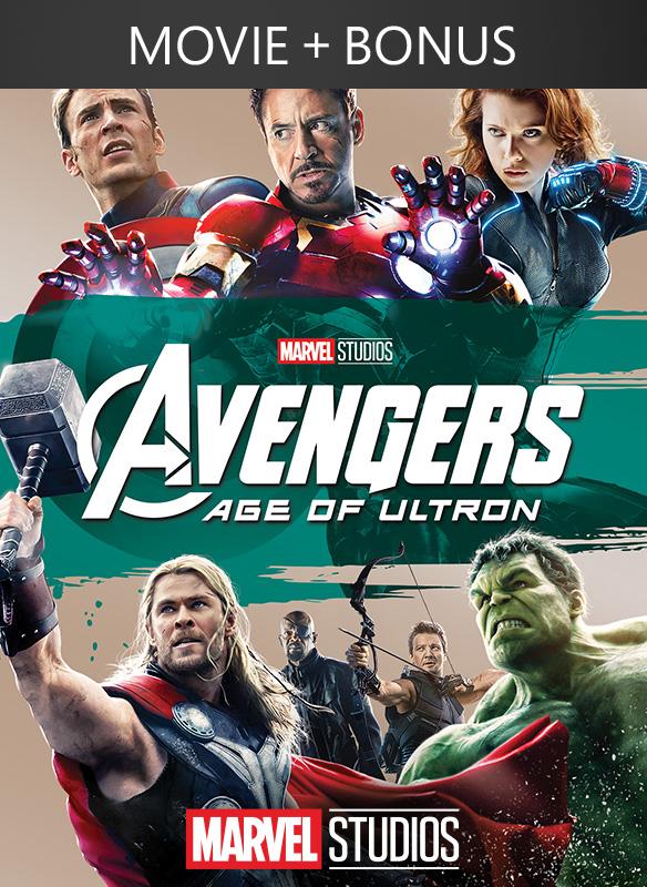 Marvel's The Avengers: Age of Ultron + Bonus