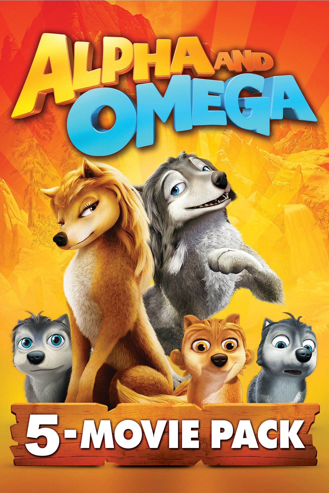Alpha & Omega: 5 Movie Bundle