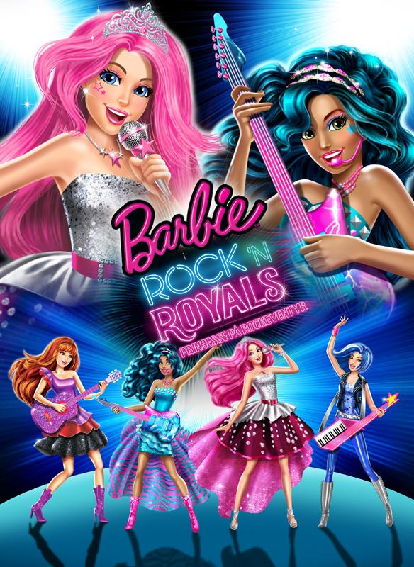 Barbie i Rock 'N Royals Prinsesse på Rockeventyr