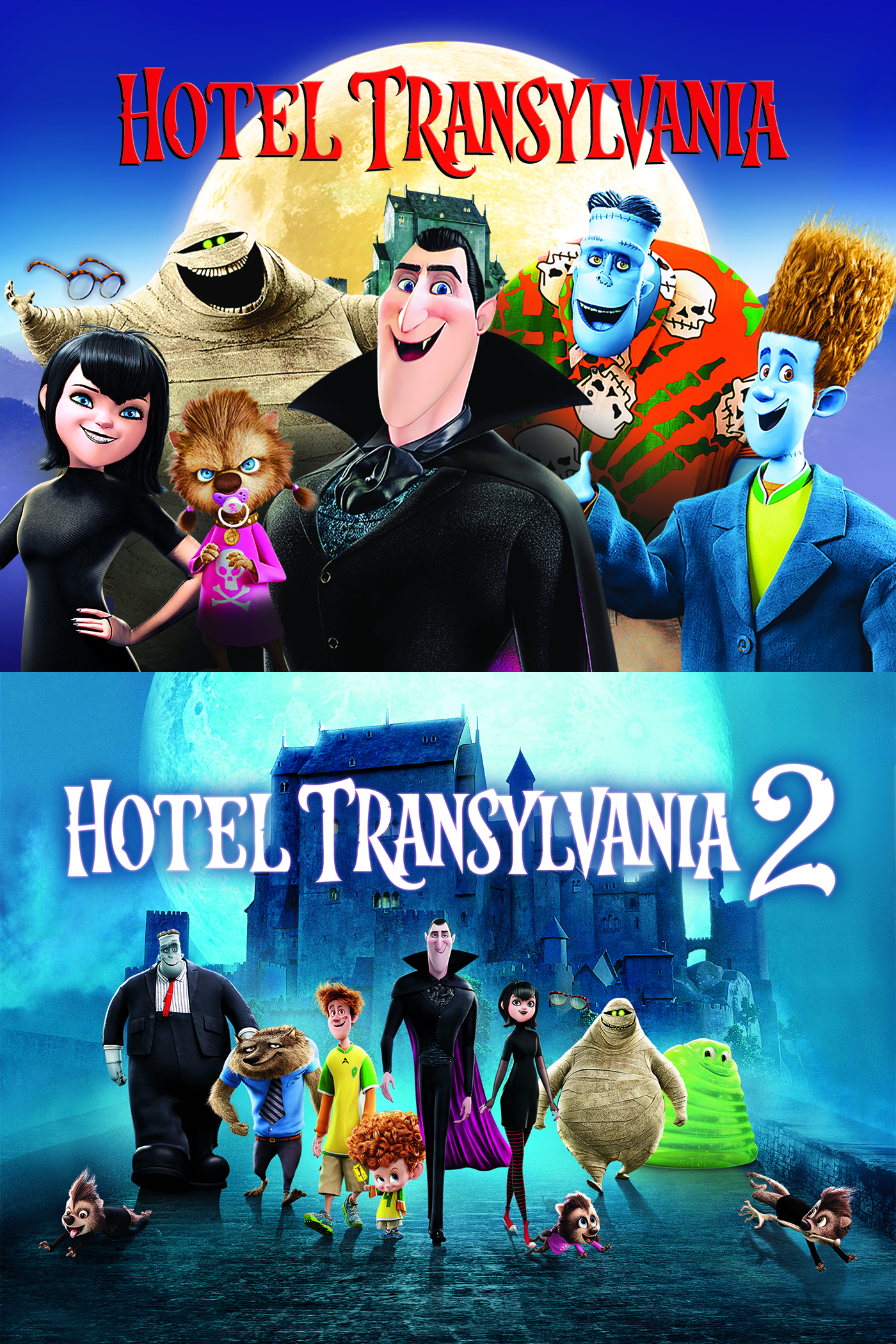 Hotel Transylvania Double Feature