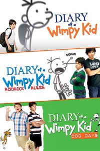 Diary of a Wimpy Kid Triple Pack