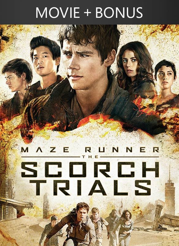 Maze Runner: The Scorch Trials + Bonus