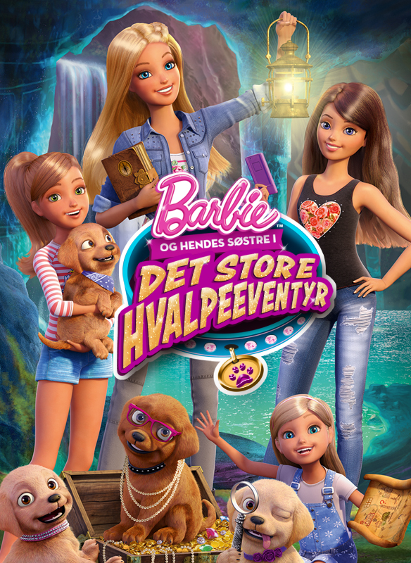 Barbie og Hendes Søstre I Det Store Hvalpeeventyr