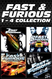 Fast & Furious 1 - 4 Collection