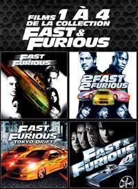 Films 1 à 4 de la collection Fast & Furious