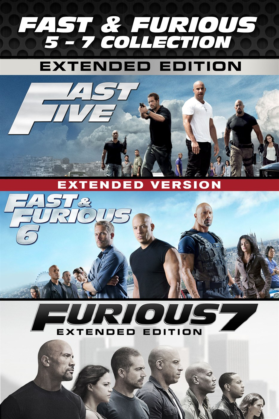 fast furious 5 7 collection microsoft store. Black Bedroom Furniture Sets. Home Design Ideas