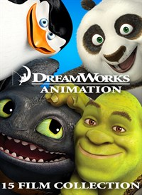 Dreamworks Animation 15 Film Collection