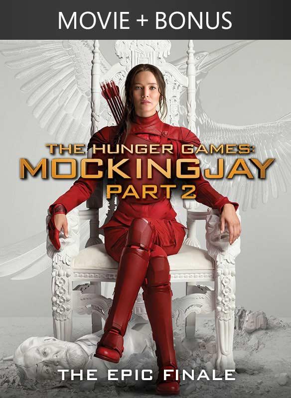 The Hunger Games: Mockingjay Part 2 + Bonus