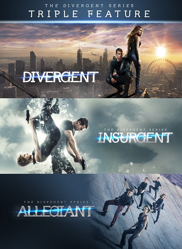 The Divergent Series 3-Pack Bundle