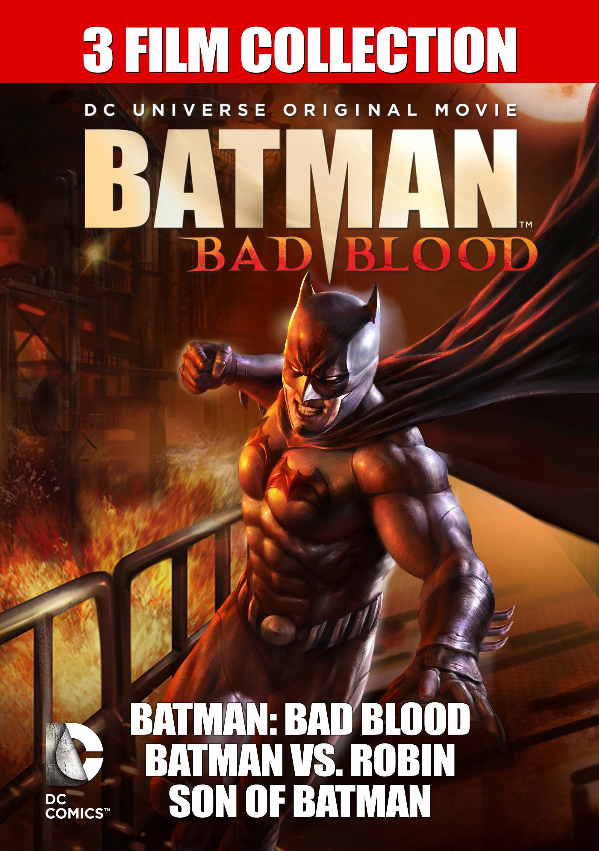 Batman Bad Blood 3-film Collection