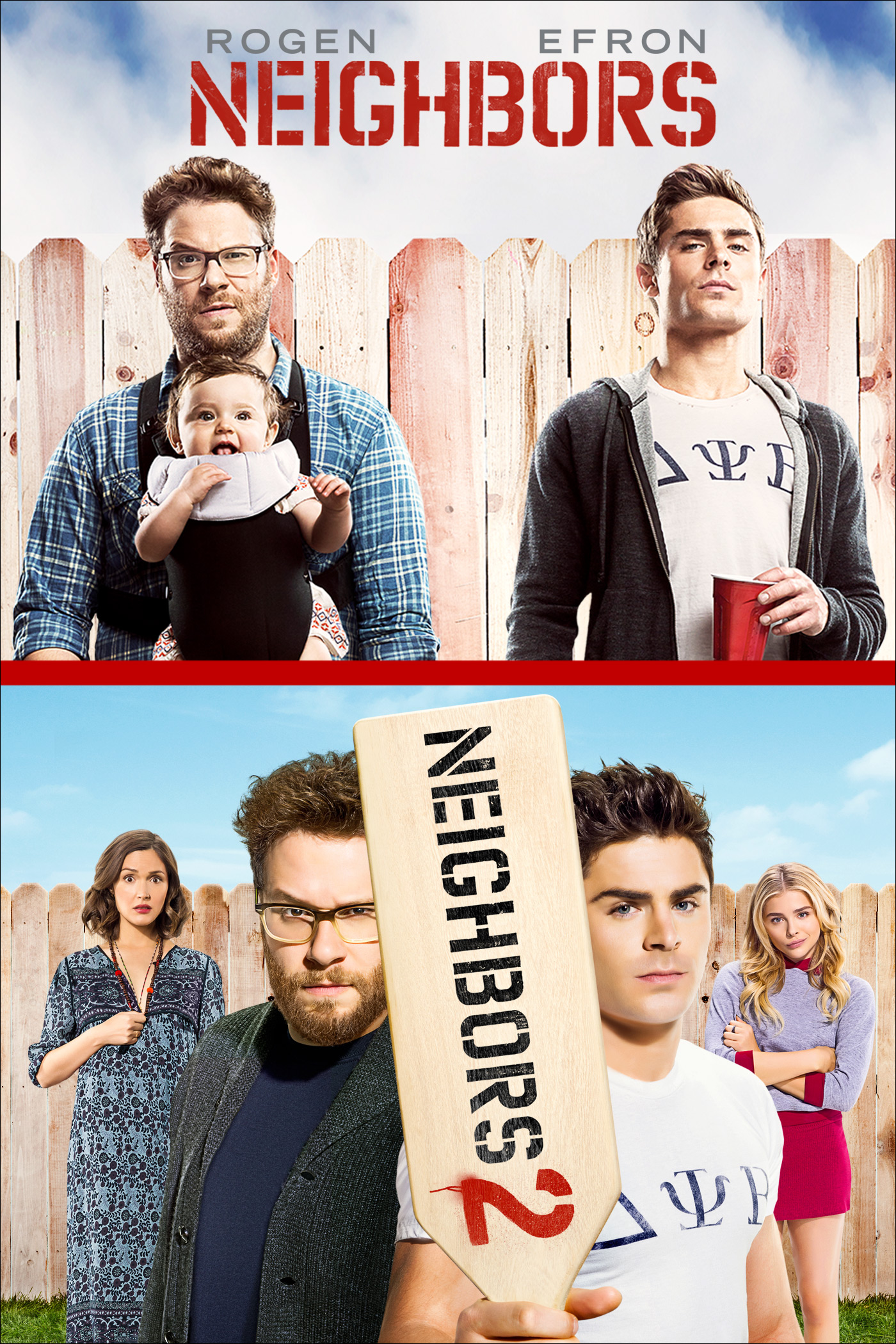 Neighbors 1 & 2 Bundle
