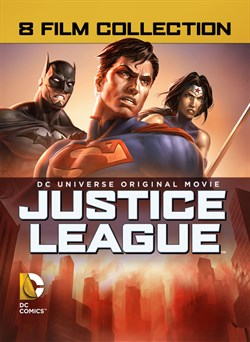 8 Film Collection DC Universe Original Movie: Justice League