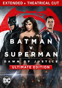 Batman v Superman: Dawn Of Justice Ultimate Edition 2-film bundle