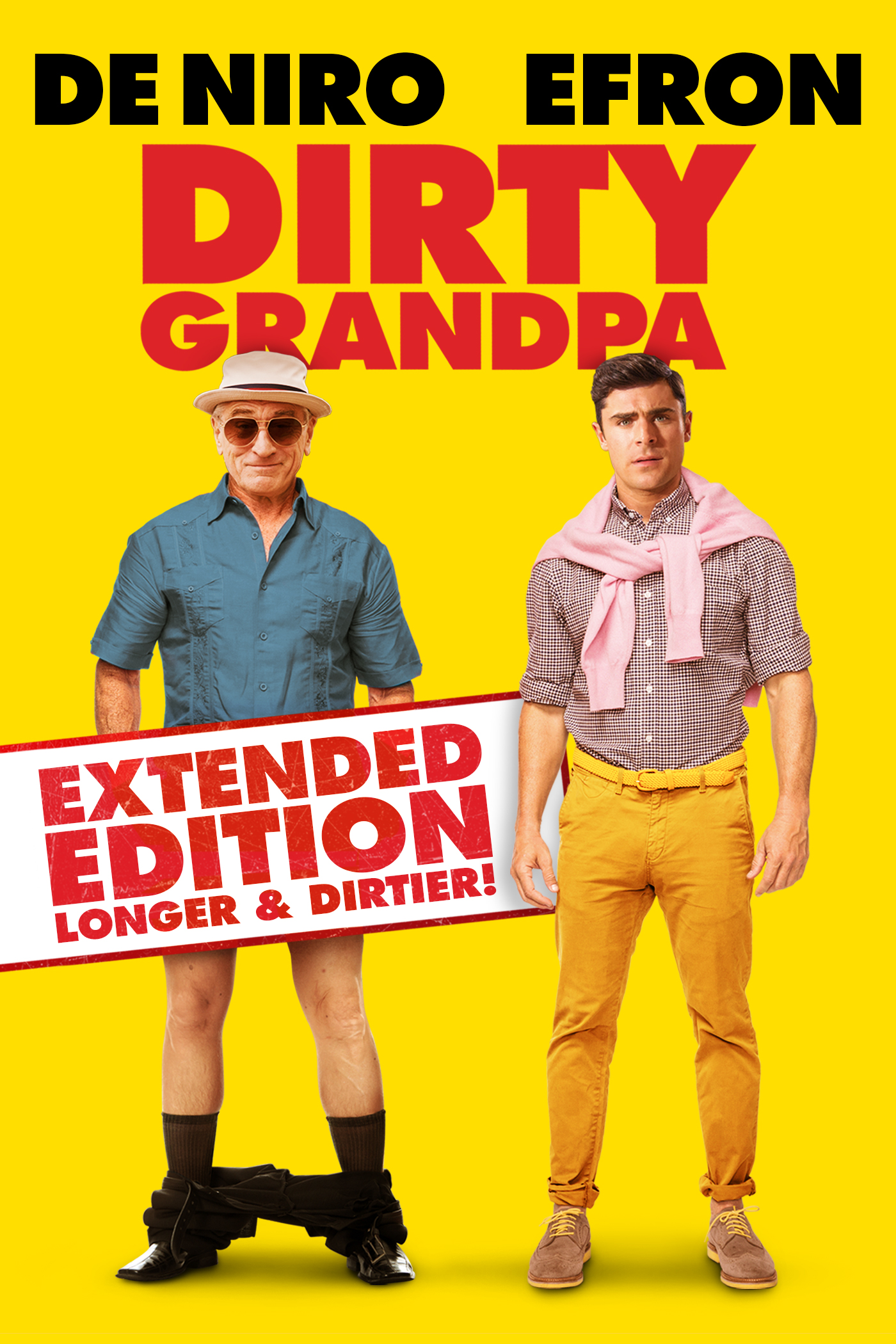 Dirty Grandpa: Extended Edition, Longer and Dirtier
