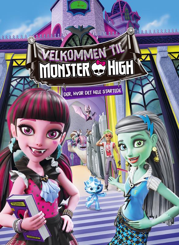 Velkommen til Monster High – der, hvor det hele startede