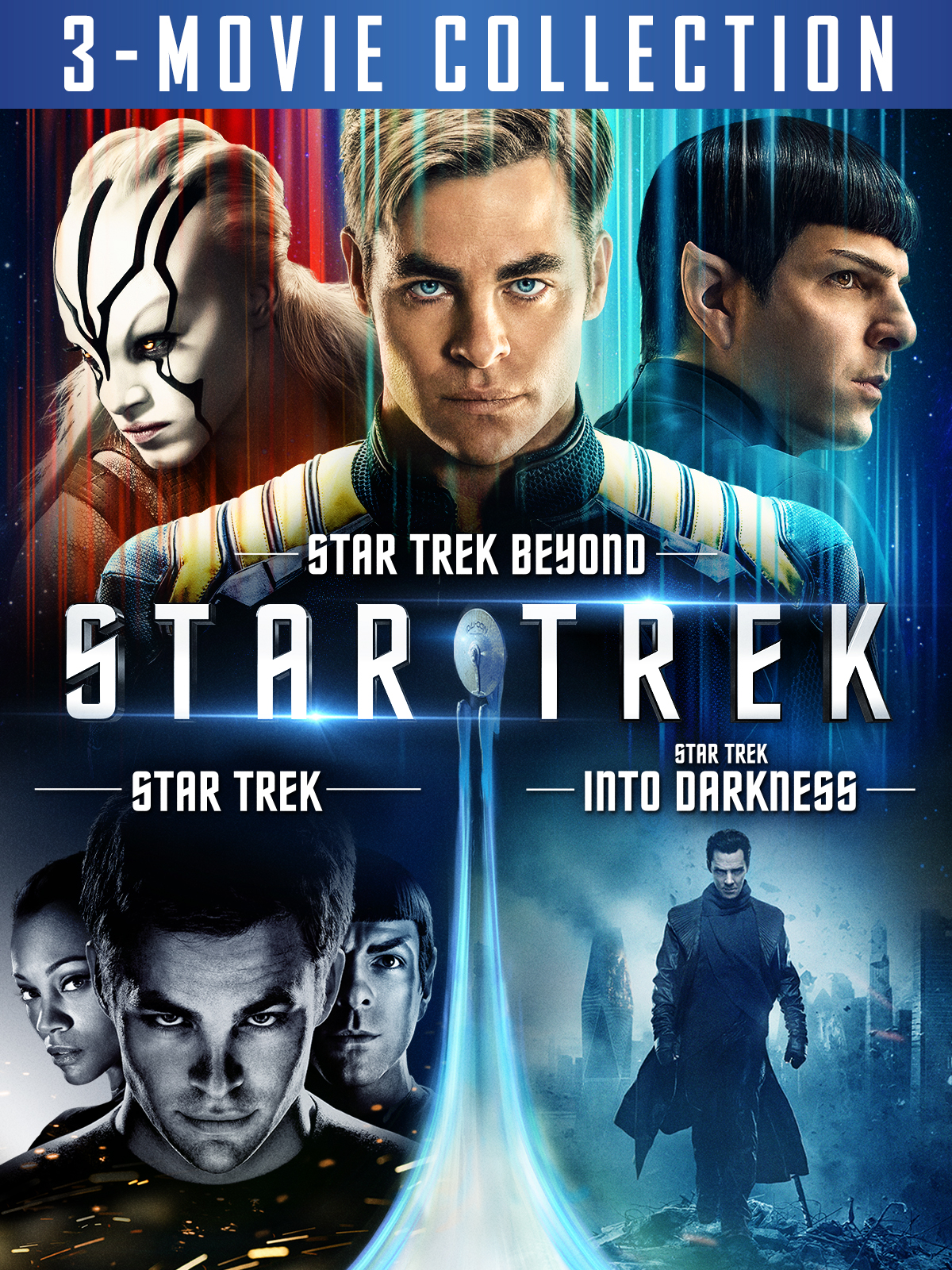 Star Trek 3-Movie Collection (plus bonus content)