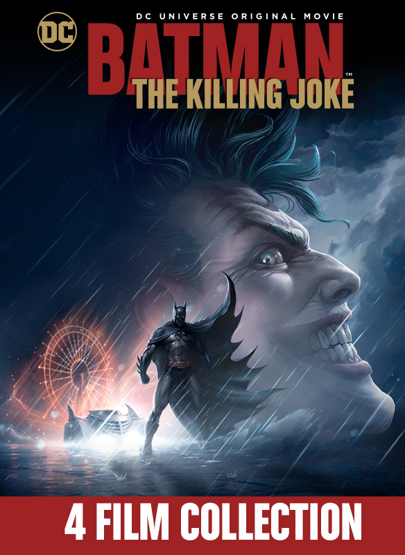 Batman: The Killing Joke 4 Film Bundle