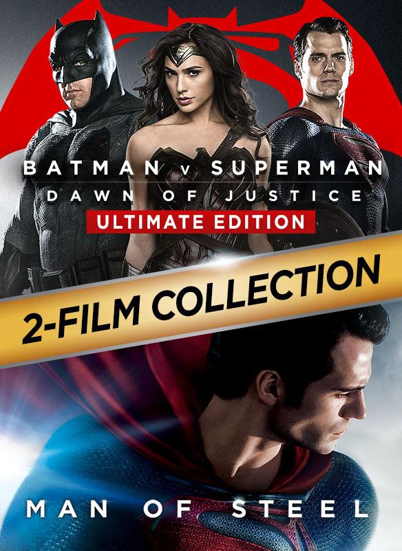 Batman v Superman: Dawn of Justice / Man of Steel 2-Film Collection