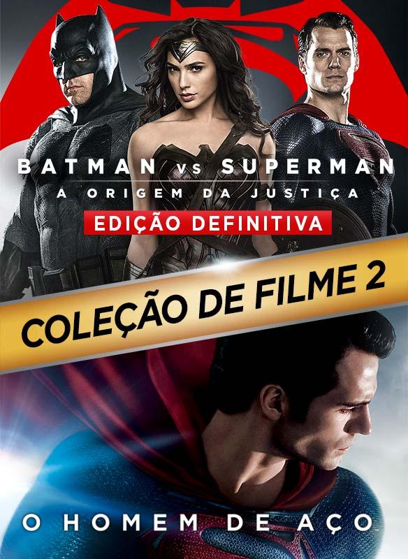 Coleção DC: Batman vs Superman: A Origem da Justiça + O Homem de Aço