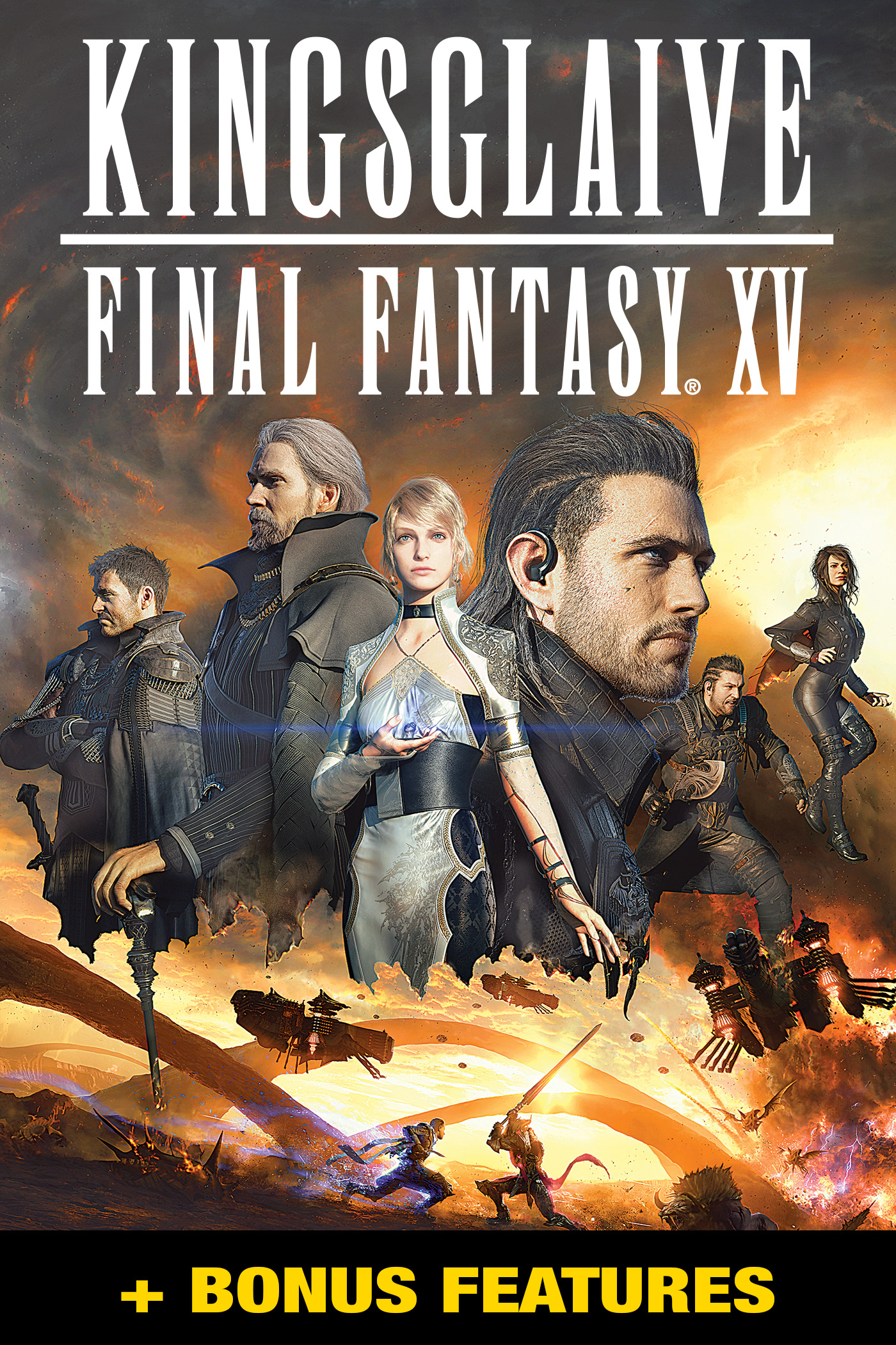 Final Fantasy: Kingsglaive + Bonus