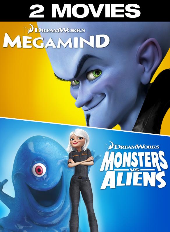 Megamind/Monsters vs. Aliens 2-pack