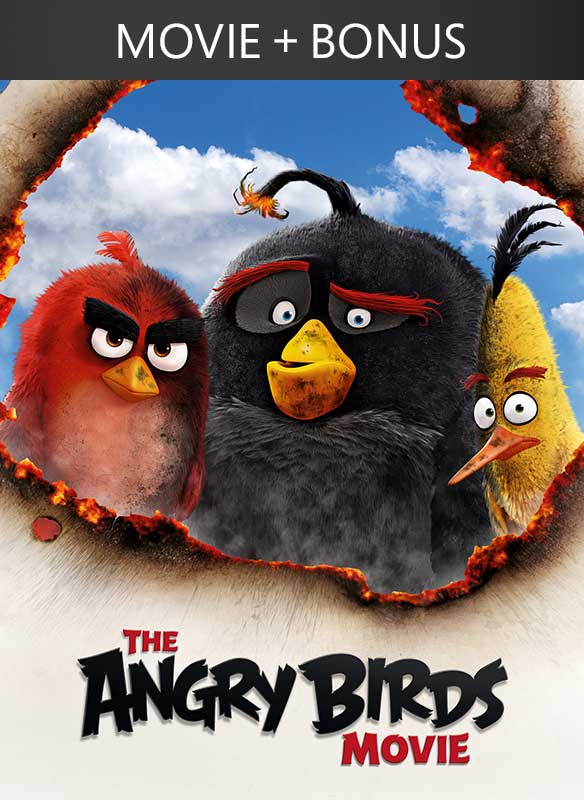 Angry Birds Movie + Bonus