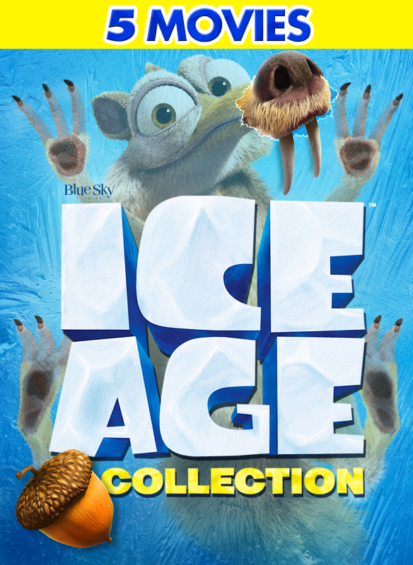 Ice Age 1-5 Movie Collection