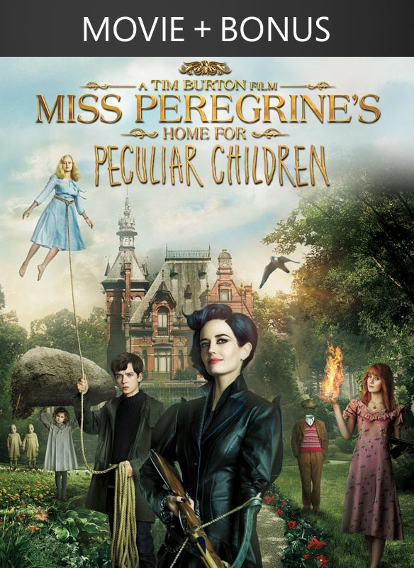 Miss Peregrine's Home For Peculiar Children + Bonus
