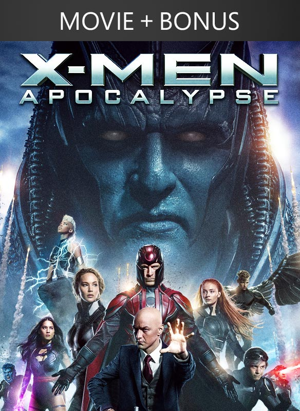 X-Men: Apocalypse + Bonus