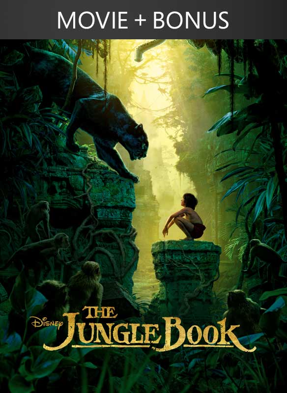 The Jungle Book (2016) + Bonus