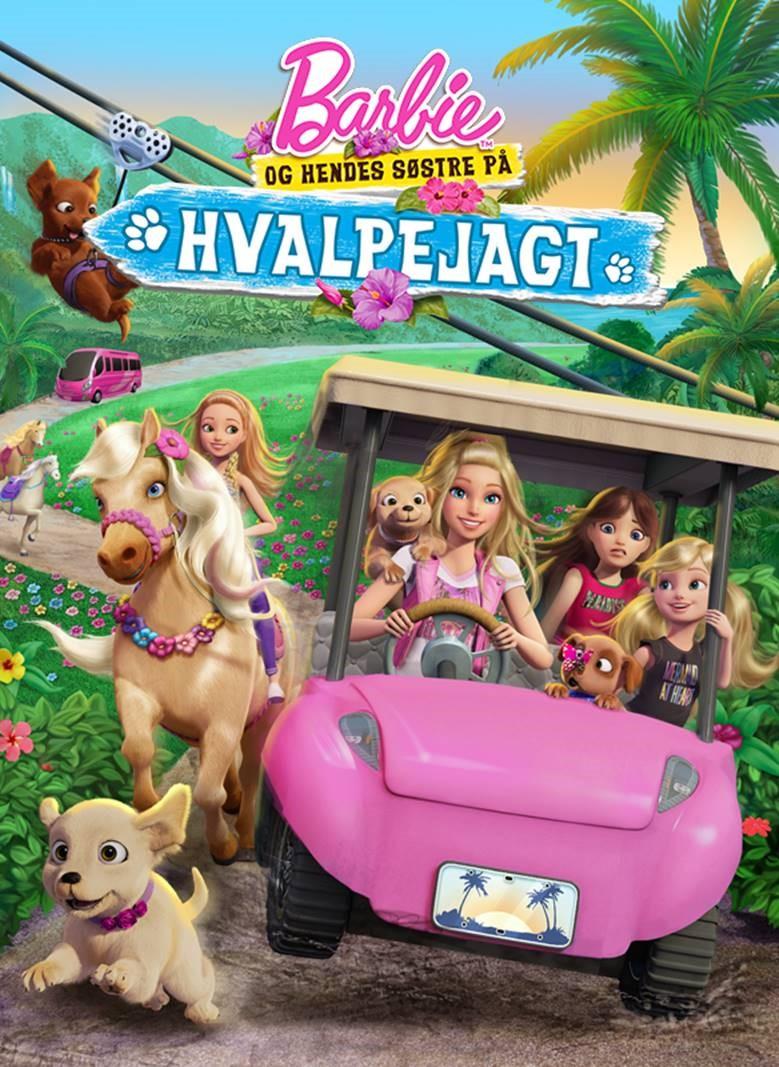 Barbie™ og hendes søstre på hvalpejagt