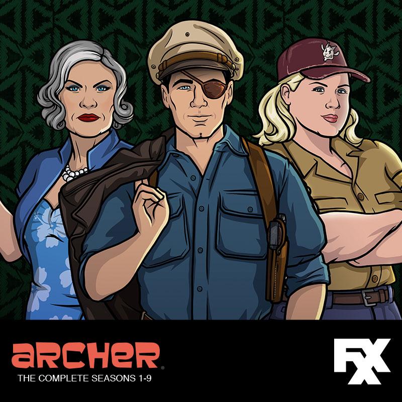 Archer Seasons 1-9