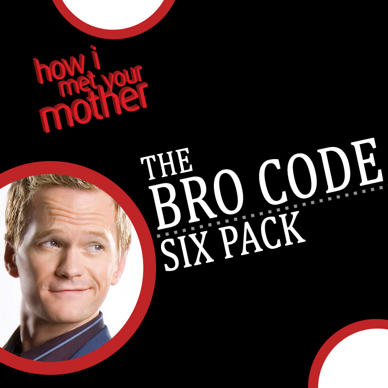 How I Met Your Mother: Bro-Code Six Pack