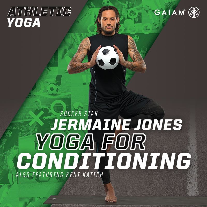 Gaiam: Athletic Yoga, Yoga for Conditioning with Jermaine Jones