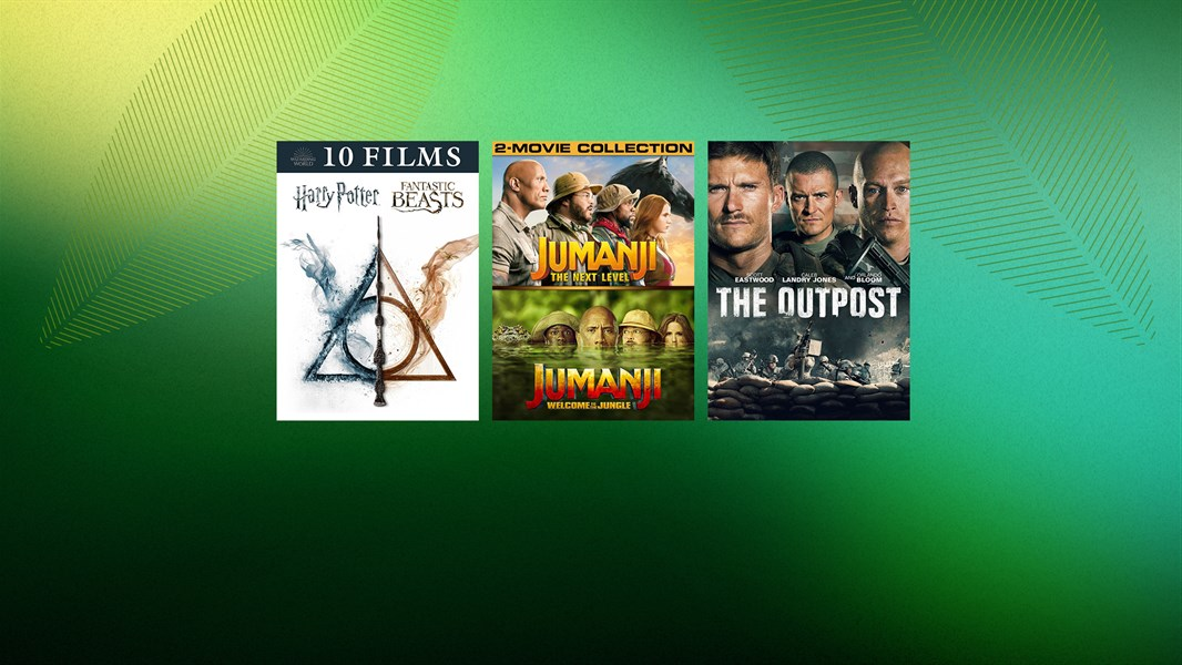 Save up to 40% on select movies and TV