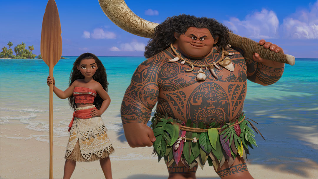 Get Moana with bonus features